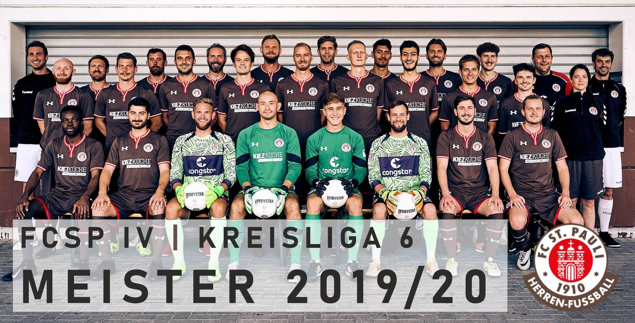 FCSP IV ist Meister der Kreisliga 6