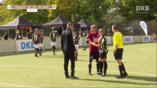 Screenshot: 13. Blindenfußballmasters FCSP, 4.10.2020 (https://youtu.be/13Yu-pC0xMU?t=9870)